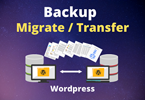 I will Move or Migrate your site from one host to another