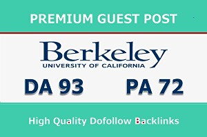 I will Write and Publish Guest post Berkeley.edu DA 93 With Backlink