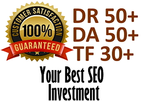 I will do Natural High Authority Link Building To Improve The Website POWER to DA50+, DR50+,TF30
