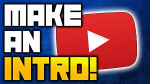 I will Make Awesome Youtube Intro For You within 24hrs