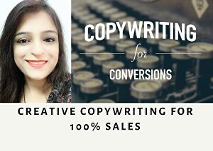 I will provide professional copywriting to boost your sales