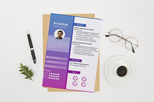 I will design professional  job winning resume