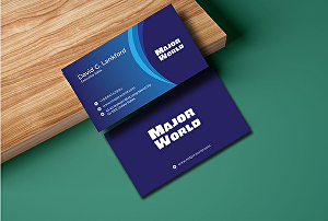 I will Design 2sided minimal or Luxury Business Card for you