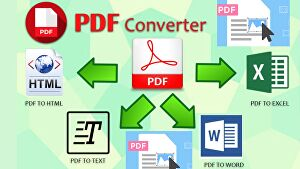 I will Convert PDF to Word, Excel, Text and HTML