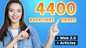 I will Create 4400 Backlinks to Improve Your Google Ranking (SEO)