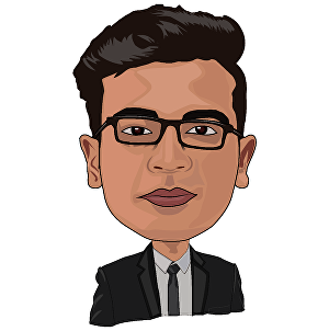 I will draw  smart caricature and big head cartoon  avatar for you