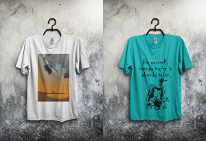 I will design T-shirt