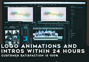 I will create amazing logo animations and intros within 24 hours