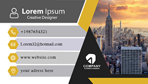 I will design Unique Business card and Logo for you within 24 hour