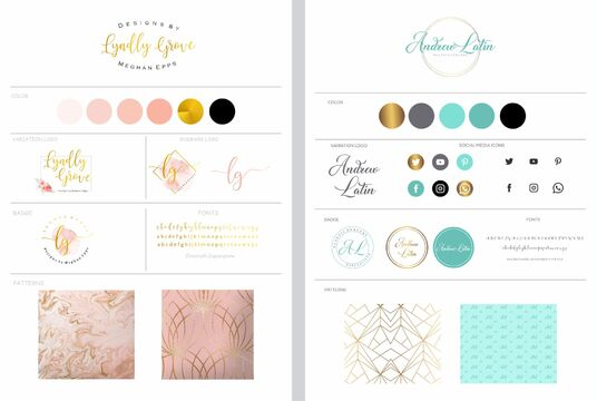 design Professional brand boards for any type of business