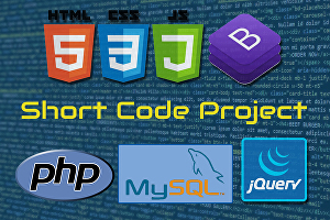 I will do short code project for html, css, javascript, php, mysql