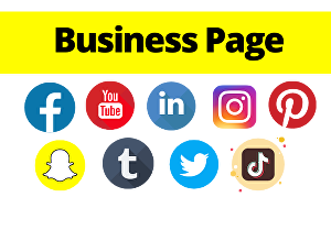 I will create any one social media account such as Facebook page, Instagram, Pinterest, linkedin,