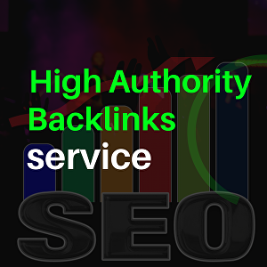 I will do High Authority SEO Backlinks service For  your Website