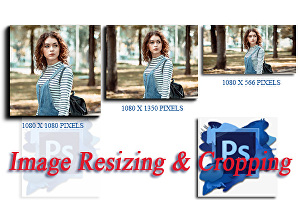 I will Crop or Resize Your Images or Photos Quickly