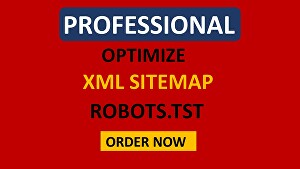 I will manually create XML sitemap robots.txt for website SEO