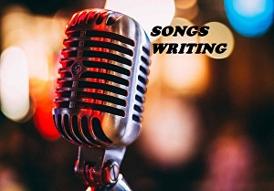 I will write songs for you