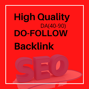 I will Provide  High Quality Do-Follow backlink for your website