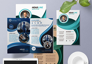 I will design  stylish Bifold, Trifold, or 4Fold brochure