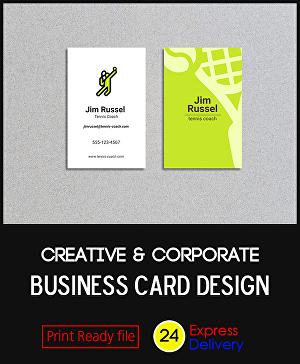 I will design Creative & Corporate Business card