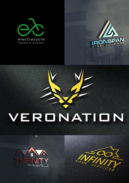 design a modern and minimalist unique logo for your brand or company