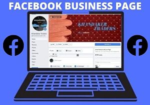 I will create facebook business page  professionally