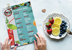 I will Do Restaurant Menu Design
