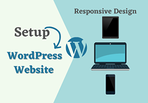I will install wordpress on cpanel, setup theme and upload content on wordpress website