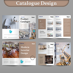 I will design your product catalogue, booklet, manual, book, brochure and magazine