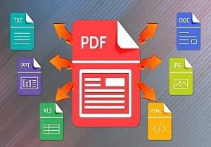 I will do conversion from PDF to Word, Excel, PowerPoint