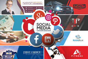 I will design creative social media cover