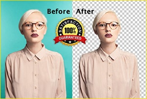 I will do photo background removal and editing service