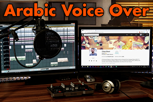I will record male Arabic Voice Over