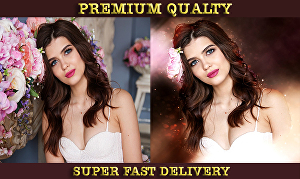 I will do premium quality photo editing and beauty retouch of your Image