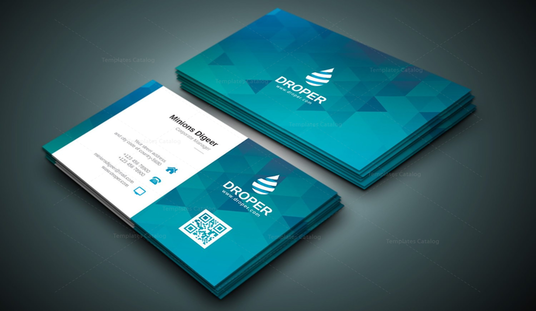 Design awesome business card and brand identity