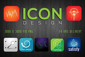 I will do an awesome icon design for your app
