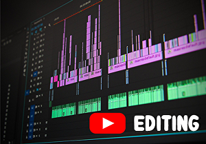 I will do video editing of your YouTube video in 24 hours