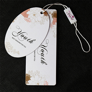 I will design clothing tags