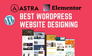 I will create a WordPress website with Elementor Pro and Astra agency