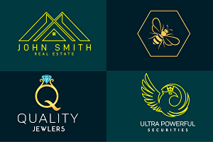 I will do modern minimal or minimalist logo design