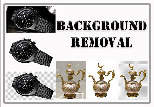 I will do background removal up to 10 images