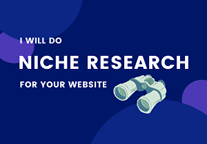 I will research a profitable and less competitive Niche or Micro Niche for You