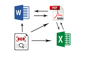 I will Convert PDF or  Word into Editable Document - Reformat in Docx File, Powerpoint, Excel