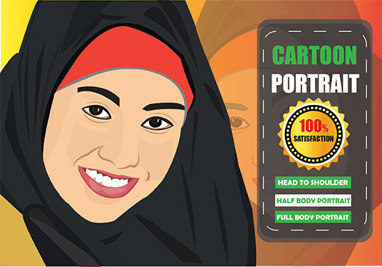 draw your cartoon portrait from your photo