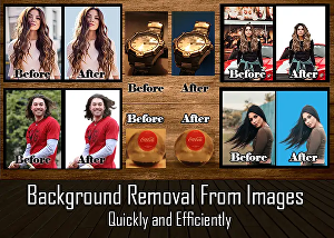 I will remove background from 10 images very efficiently
