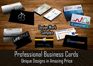 I will design elegant business cards
