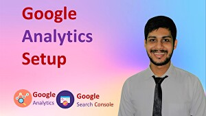 I will set up Google Analytics, Google Search Console, and sitemap