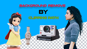 I will do background remove, clipping path, create a natural shadow