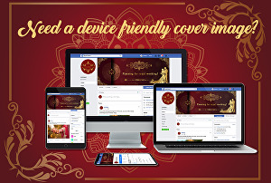 I will design awesome facebook cover