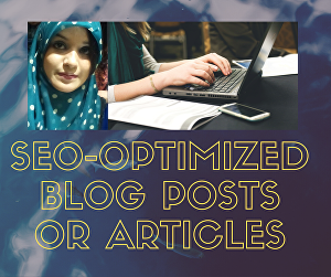 I will write well-researched and optimized SEO content, blog post, or article