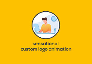 I will do a sensational custom logo animation